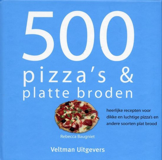 500 pizza's & platte broden - R. Baugniet |