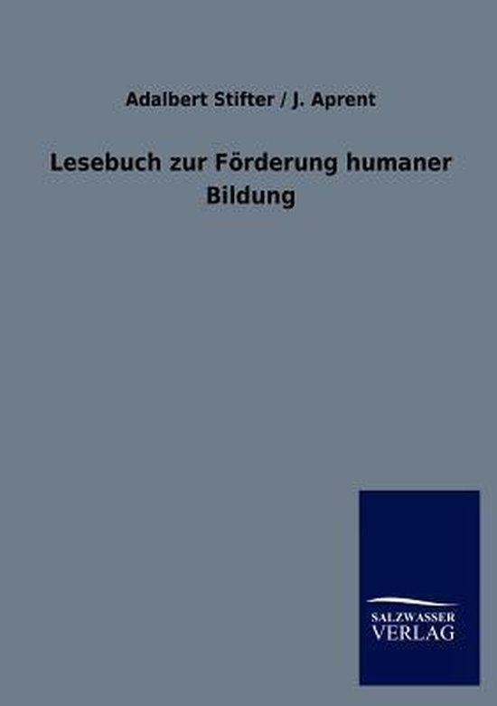 Lesebuch zur Foerderung humaner Bildung