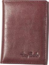 Tony Perotti Furbo Pure Mini RFID portemonnee met papier- en kleingeldvak - Bordeaux