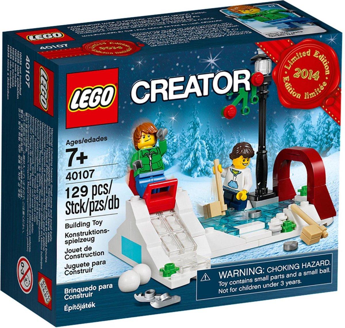 LEGO Creator Holiday Winter Skating Scene - 40107