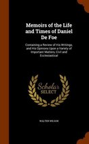 Omslag Memoirs of the Life and Times of Daniel de Foe