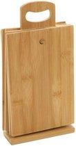 Snijplank bamboe - Snijplankenset - 6 snijplanken