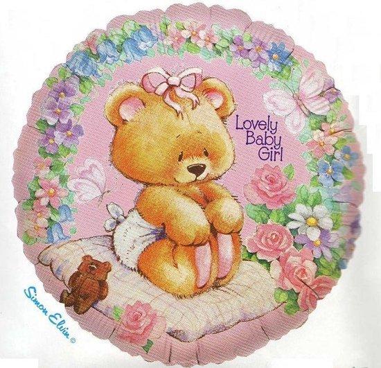 folieballon - Lovely Baby Girl