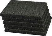 Rubber tegeldrager 200x100x15mm - per 40 stuks
