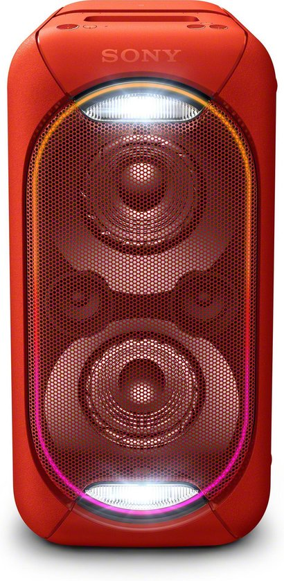 Sony GTK-XB60 - Draagbare Party Speaker - Rood