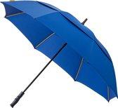 Falcone Luxe Golfparaplu - Glasfiber Baleinen - Ø 130 cm - Blauw