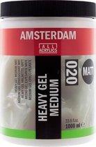 Amsterdam 020 Heavy Gel Medium Mat flacon 1000ml