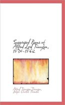 Suppressed Poems of Alfred Lord Tennyson, 1830-1862