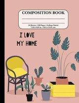 Composition Notebook: College Ruled