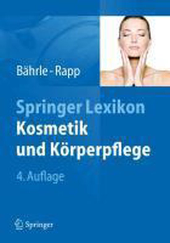 Springer Lexikon Kosmetik Und Koerperpflege