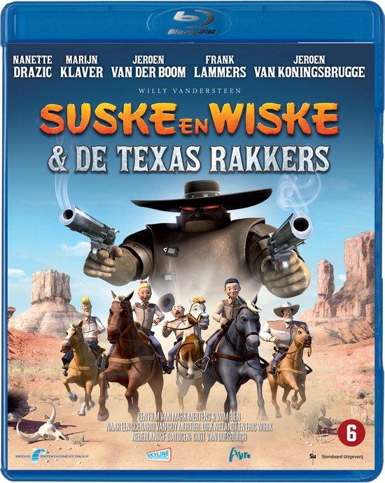 Cover van de film 'Suske & Wiske en de Texasrakkers'
