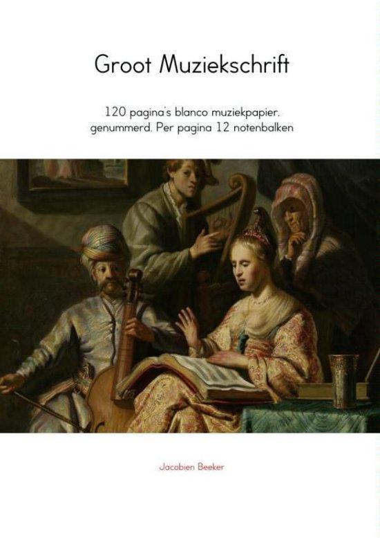 Groot muziekschrift - Jacobien Beeker | Fthsonline.com