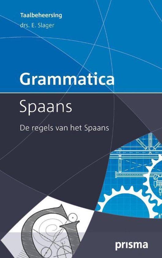 Grammatica Spaans - E. Slager | Fthsonline.com