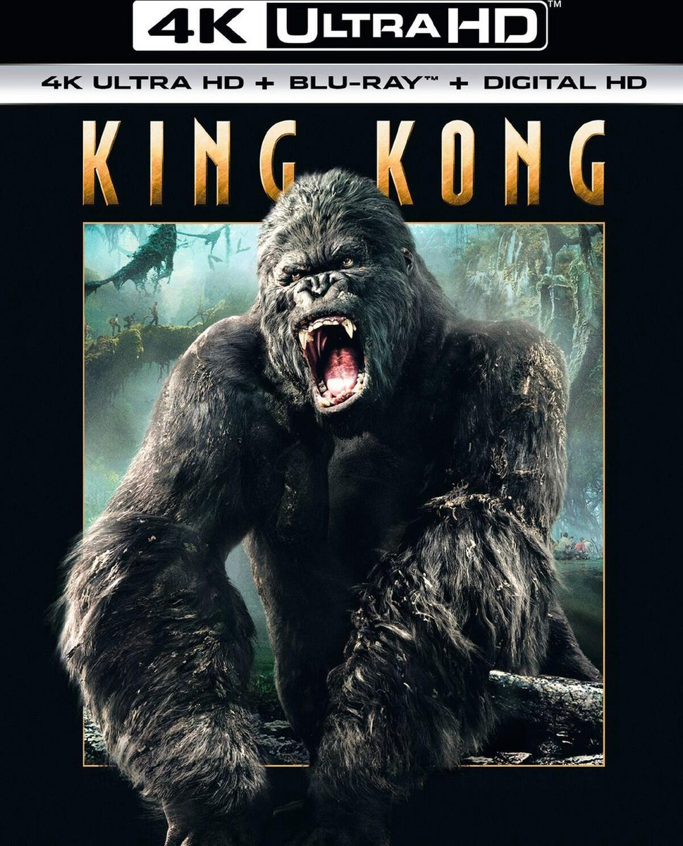 King Kong (2005) (4K Ultra HD Blu-ray) - Film