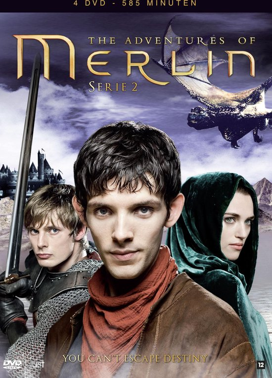Cover van de film 'The Adventures Of Merlin'