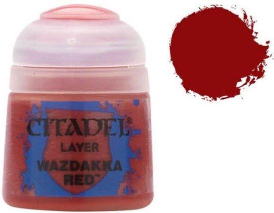 Afbeelding van het spel Citadel Layer: Wazdakka Red