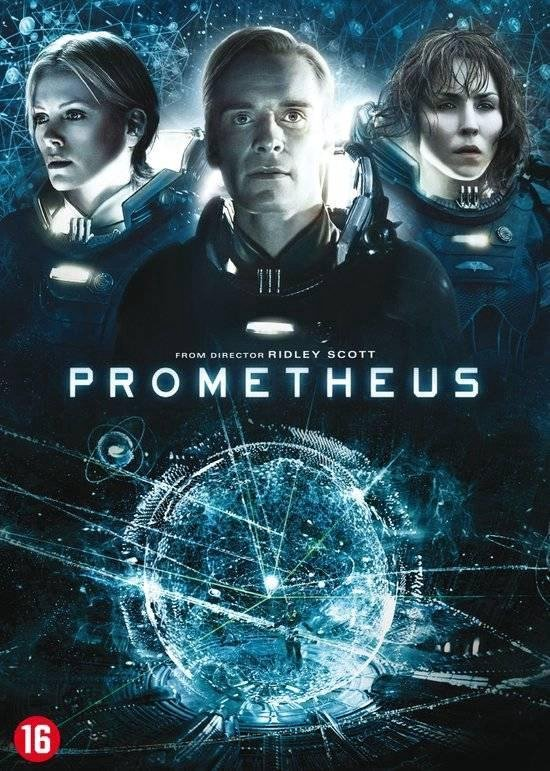 Cover van de film 'Prometheus'