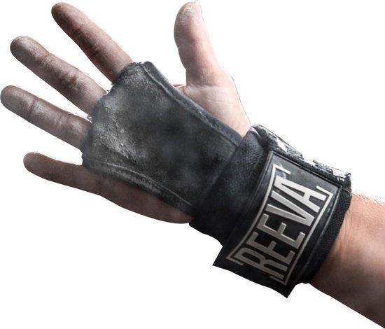 Reeva Gear Sporthandschoenen Unisex – Zwart – Maat S