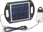Zonnepaneel met Verlichting en Oplader - Velleman SOL22