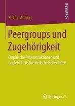 Peergroups Und Zugehoerigkeit