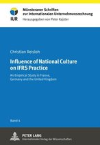 Influence of National Culture on IFRS Practice
