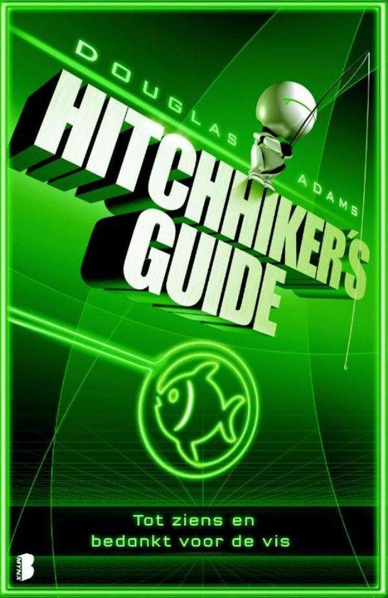 Hitchhiker's guide - 4 - Tot ziens en bedankt voor de vis - Douglas Adams  