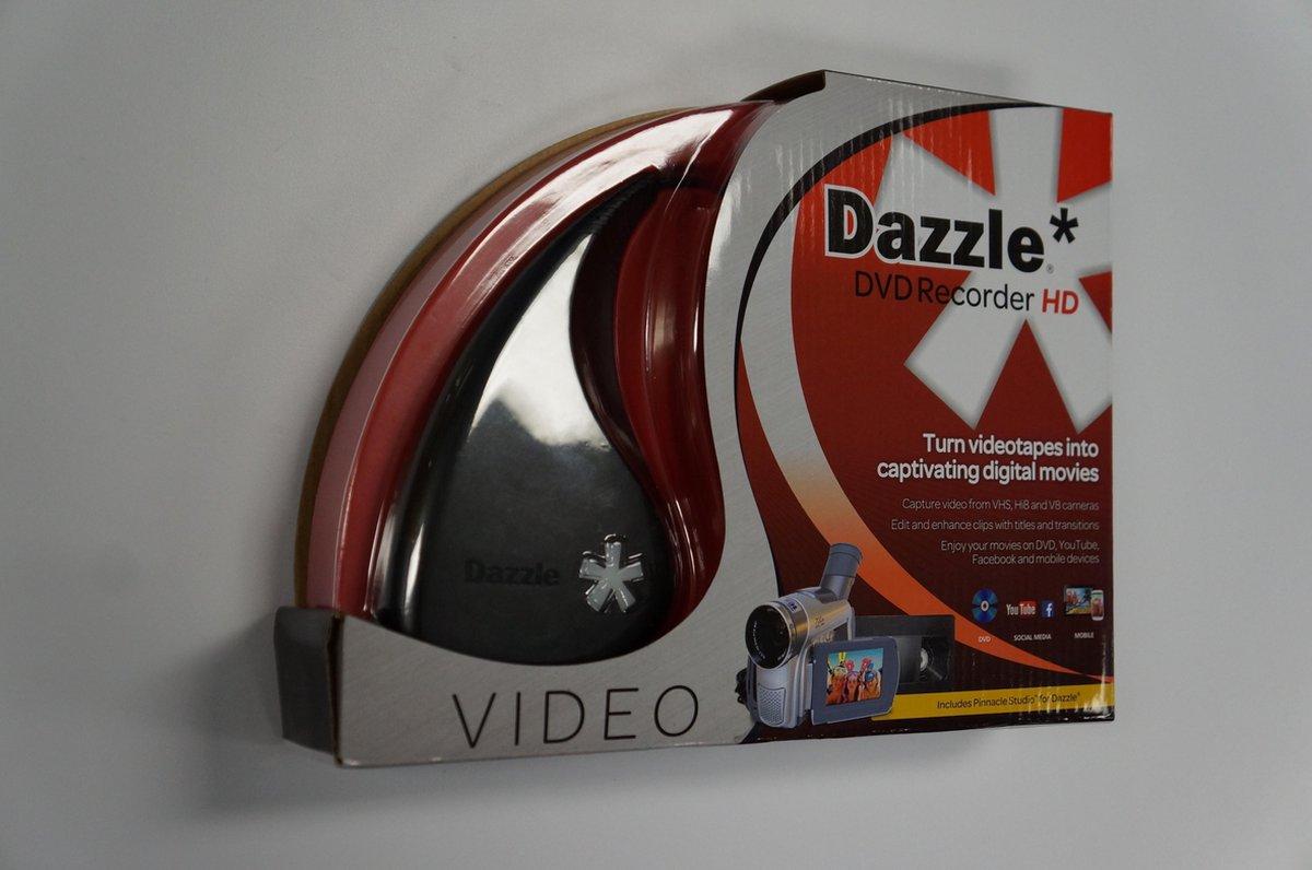 Dazzle DVD Recorder HD - Video Vastleg apparaat - Analoog to USB - Met Pinnacle Studio Software