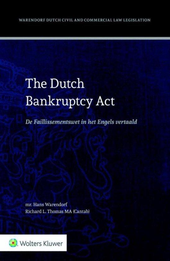 The Dutch bankruptcy act - Hans Warendorf pdf epub