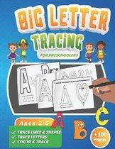 Big Letter Tracing for Preschoolers