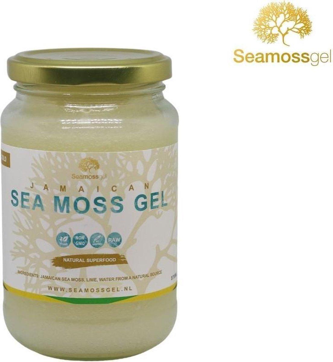 Jamaicaanse sea moss gel   Gold   Seamoss