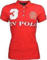 Hv Polo Polo  Favouritas Eq - Mid Red - l
