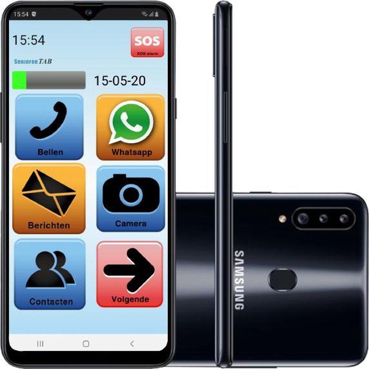 Senioren Smartphone 32GB Vlaamse Versie (De officiële SeniorenTab op basis van Samsung Smartphone)