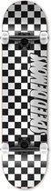 Speed Demons - Checkers Compleet Skateboard Black/White 8.0