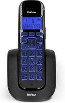 Profoon PDX-2808 Big button DECT telefoon - Groot verlicht display en grote toetsen - Zwart