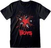 Boys, The - Group Shot T-shirt Zwart
