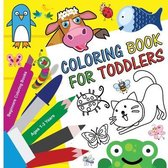 Coloring Book for Toddlers 1-3 Years - Beginners Coloring Books