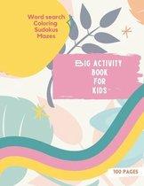 Big Activity Book for Kids