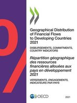 Geographical distribution of financial flows to developing countries 2021
