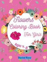 Flowers Coloring Book For Girls