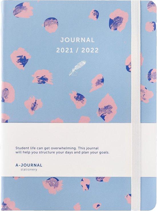 Afbeelding van A-Journal Schoolagenda 2021/2022 - Luipaard print - A5