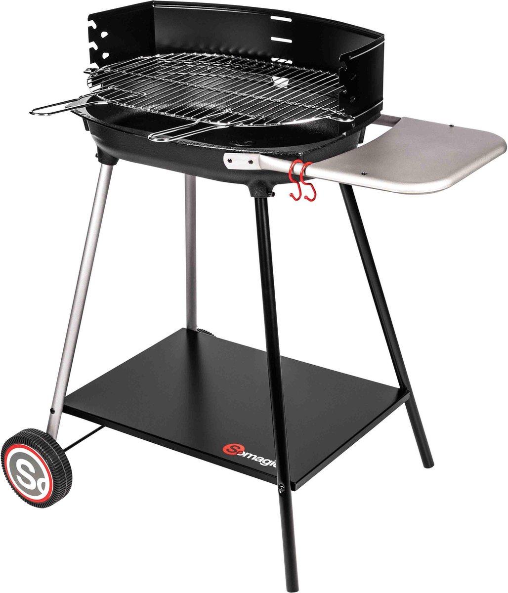 COOKING DEALS - SO MAGIC - MYCONOS - Houtskool BBQ - basic - voor thuis gebruik (6p) - 52 x 37cm