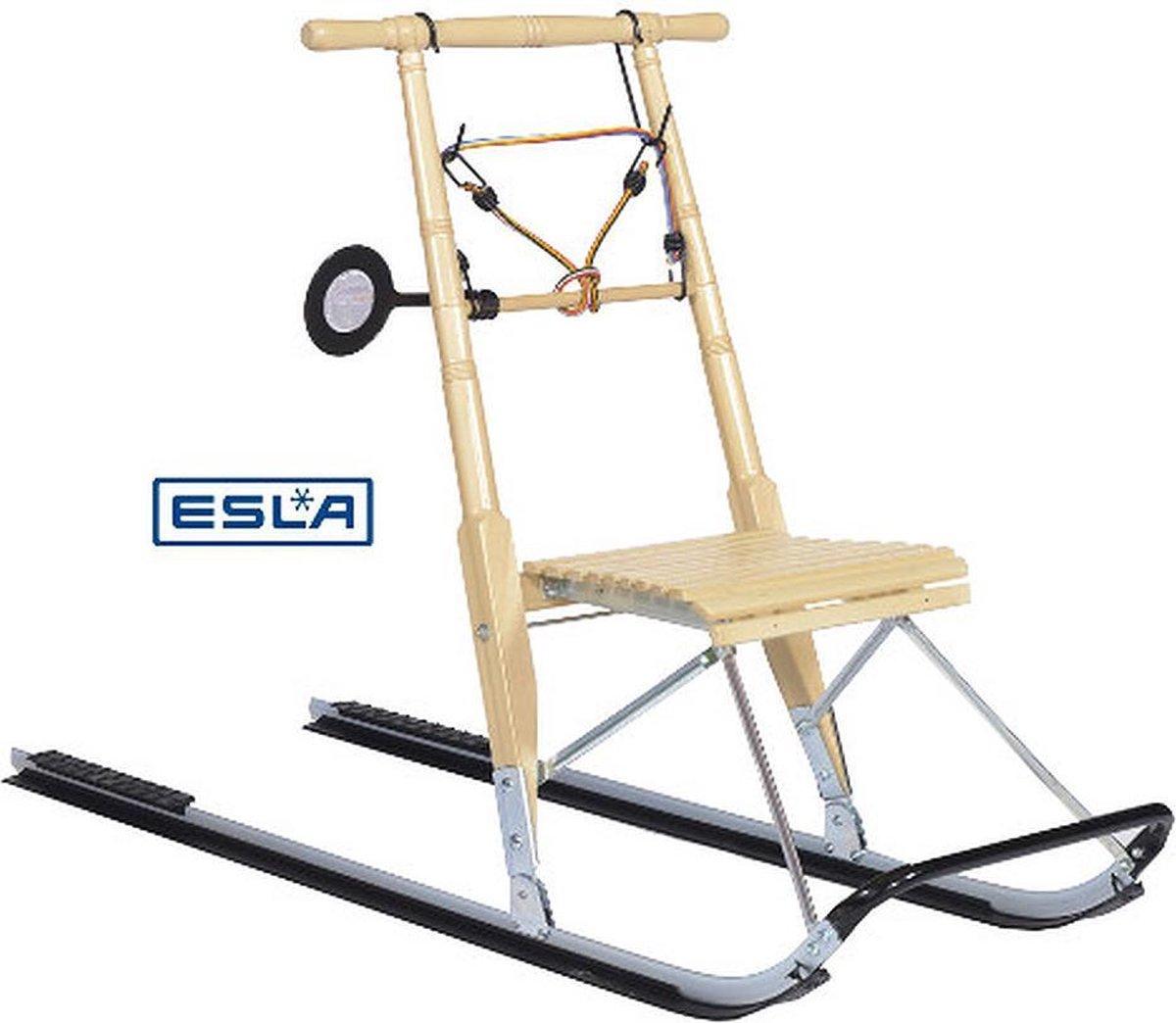 ESLA - Kicksledes - Compact - voor personen 160 CM - met snowrunners
