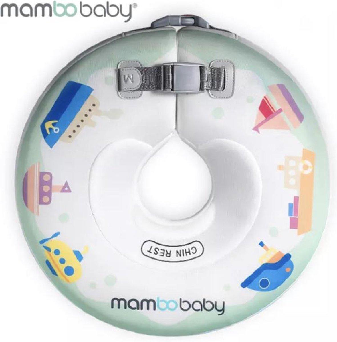 Baby Float, baby zwemband, Nekring, Baby Spa - Wit boot