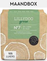 LILLYDOO green luiers - Maat 7 (15+ kg) - 105 Stuks - Maandbox