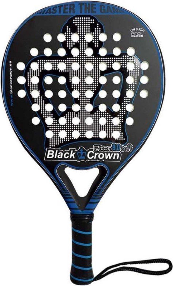 Black Crown Piton 9.0 Soft (Round) – 2021 padel racket
