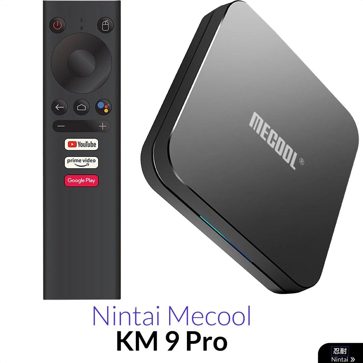 Android TV Box – Officiële Android 9.0  –  4K HDR – Ingebouwde Chromecast – Disney Plus – Amazon Prime – 2GB 16GB – Mediaspeler en Mediaplayer