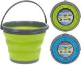 Opvouwbare emmer - Multi clean inklapbare emmer - Opvouw - Uitklap - 10 liter