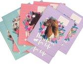 Schriften Horselover for life (9 stuks)
