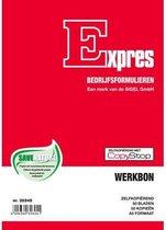 Werkbonblok Sigel Expres - A5 zelfkopierend 2x50 blad