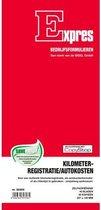 Kilometerregistratie/auto- - kostenboek Sigel Expres zelfko